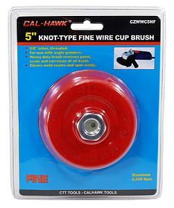 5 INCH  KNOT WIRE CUP BRUSH