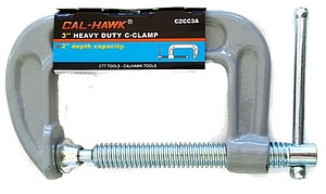 3 INCH  HEAVY DUTY C-CLAMP