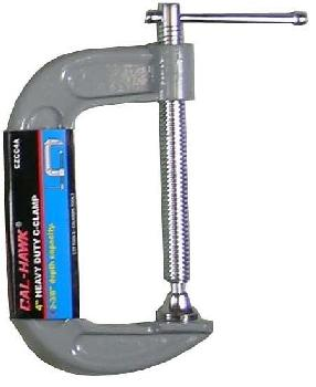 4 INCH  HEAVY DUTY C-CLAMP