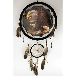 13 INCH  DREAMCATCHER - FLYING EAGLE