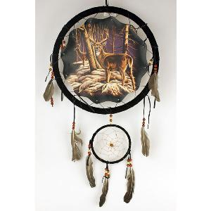 "13"" MANDELLA WITH DREAMCATCHER - DEER"