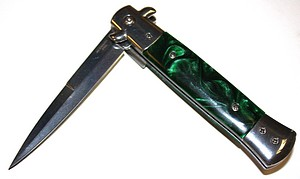 MARBLE GREEN STILETTO S/A