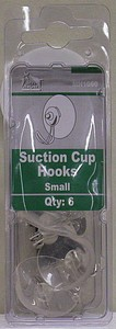 SUCTION CUP HOOKS SMALL