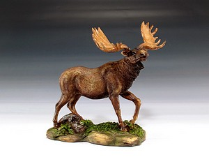 "MOOSE STATUE 6"" TALL"