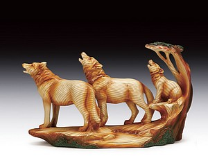 WOOD LIKE WOLF FAMILY