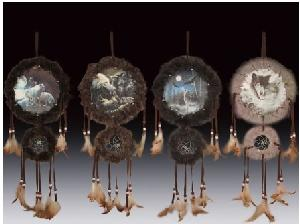 12 ASSORTED MINIATURES - FURRY DREAMCATCHERS