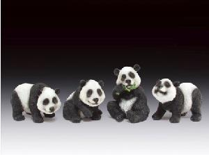 12 ASSORTED MINIATURES - PANDAS