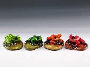 12 ASSORTED MINIATURES - FROG BOTTLE OPENERS