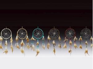 24 ASSORTED MINIATURE DREAMCATCHERS