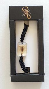 REAL BROWN SCORPION BRACELET