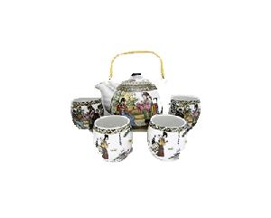 5PC CERAMIC TEASET 4 BEAUTY