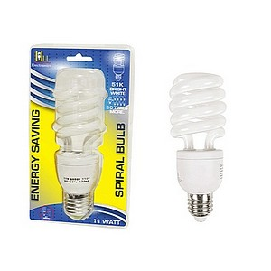CFL BULB 11W BRIGHT WHITE