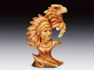 INDIAN CHIEF EAGLE HEAD