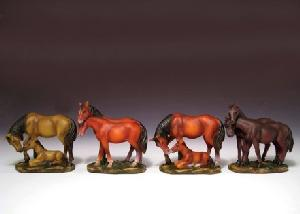 12 ASSORTED MINIATURES - HORSES
